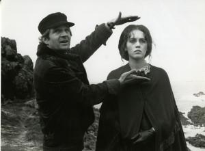 François Truffaut et Isabelle Adjani