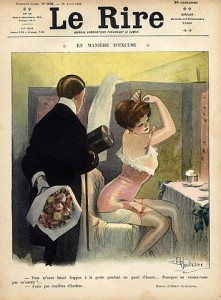 30010-albert-guillaume-1910-sexy-girl-corset-garter-belt-making-up-art-nouveau-style-hprints-com