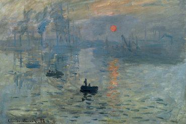 Claude Monet - Impression, soleil levant