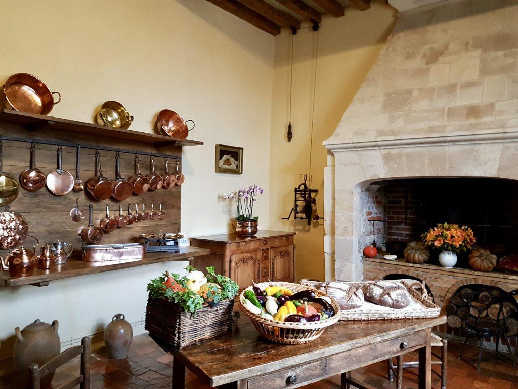 @Parci Parla - Cozinha - Château de Villandry