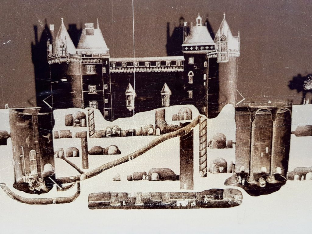 @ParciParla - Château de Brézé - construção subterrânea
