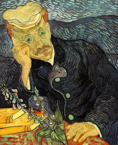 Description: Resultado de imagem para Retrato de Dr. Gachet