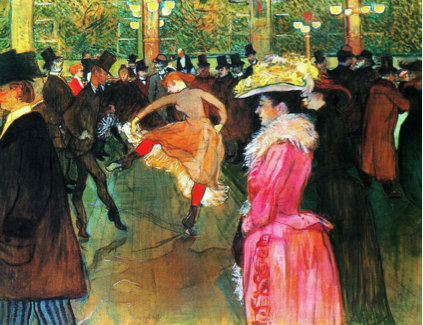 Description: Ball at the Moulin Rouge (1890)